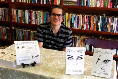 TTFaulkner at a Book Signing